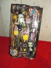 Monster High Freaky Fusion Frankie Stein Dressed as Clawdeen Wolf Doll MIB