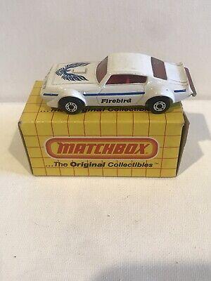 1983 MATCHBOX PONTIAC FIREBIRD #14 NIB
