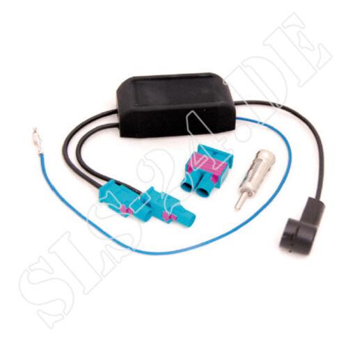 Antennenadapter Skoda Superb II Roomster mit 2 Antennen Doppel-Fakra-Stecker