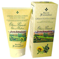 Speziali Fiorentini Olive & Sunflower Antioxidant Italian Ultra Rich Body Lotion