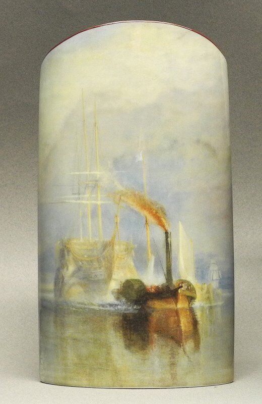MUSEUMSSHOP MUSEUMSVASE - THE FIGHTING TERMERAIRE - NACH W. TURNER - VASE
