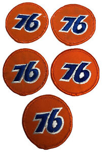 Union-034-76-034-Logo-Patch-Racing-Automotive-Advertising-2-034-Collectible-Lot-5