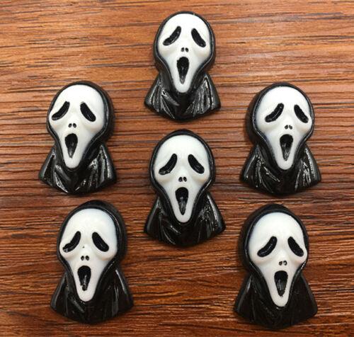 DIY 5//25//50pcs Halloween Flatback Resin Cabochon Scrapbooking//Crafts