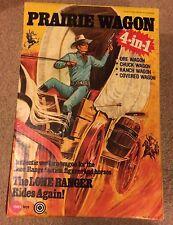 Marx Toys The Lone Ranger Rides Again Prairie Wagon 4 In 1 Rare Boxed 1975