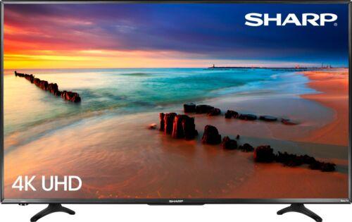 "Smart 2160p 4K UHD TV with HDR Roku TV 43/"" Class Sharp LED"