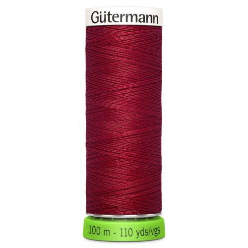 Gütermann RECYCLED Eco Friendly Polyester Thread 100m Reel Machine Hand Sewing