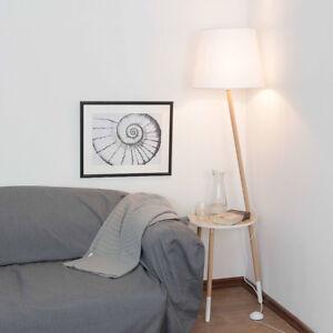 Trois Pieds Lampadaire Scandinaves Design Bois Blanc 152cm Salon ...