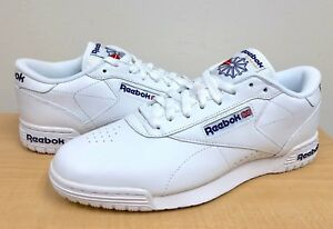 MENS REEBOK CLASSIC EXOFIT LO CLEAN LOGO INT AR3169 White Royal Blue ... bf81e089f