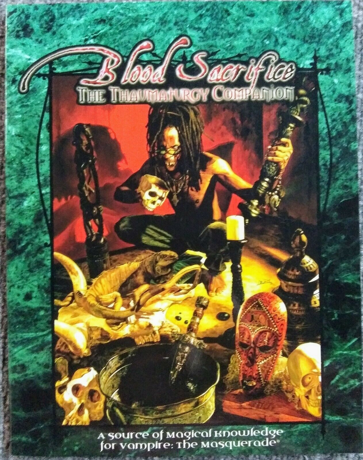 Vampire  The Masquerade - Blood Sacrifice The  Thaumaturgy Companion SC nuovo RPG  prezzi bassissimi