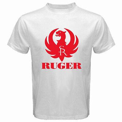 Ruger Pistol Gun Revolver 2nd Amendment Gun Firearms Black T-Shirt Size S-3XL