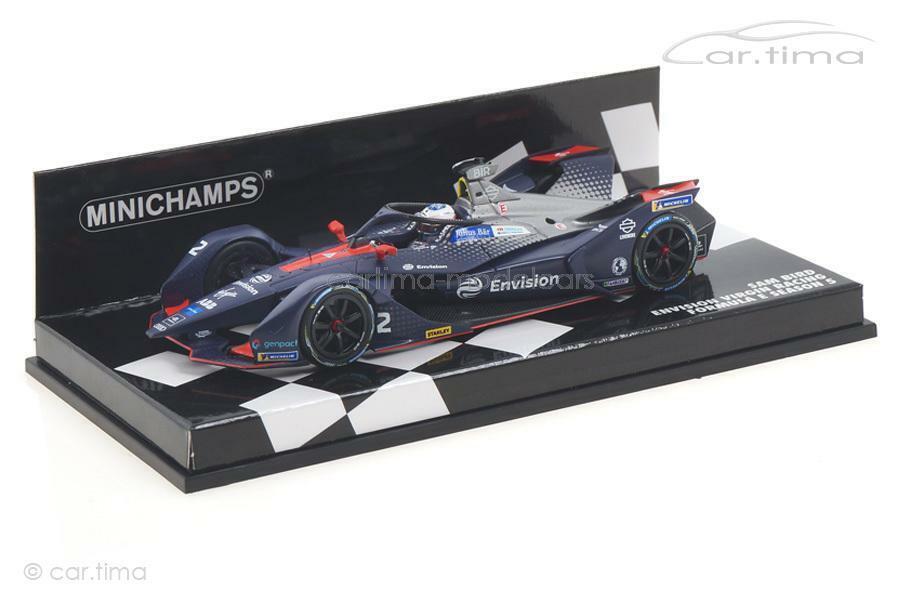 Envision Virgin Racing Formula E Season 5 Sam Bird - Minichamps 1 43 414180002