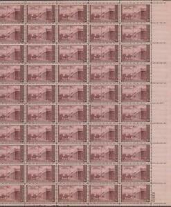 Scott-944-US-Sheet-of-50-Kearny-Expedition-MNH-1946