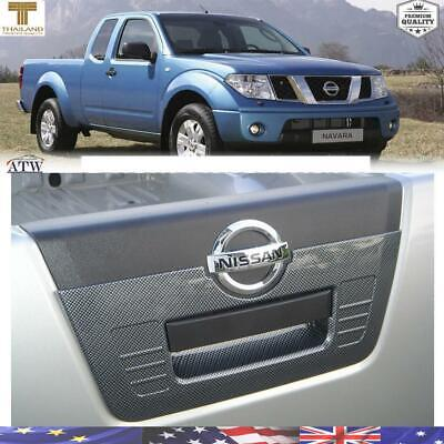 CHROME TAILGATE HANDLE COVER INSERT FOR NISSAN FRONTIER NAVARA D40 05 present