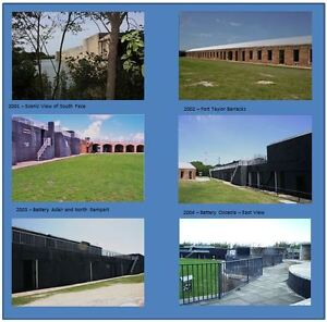 Postcards-of-Contemporary-Photographs-of-Fort-Zachary-Taylor-Set-1-of-3