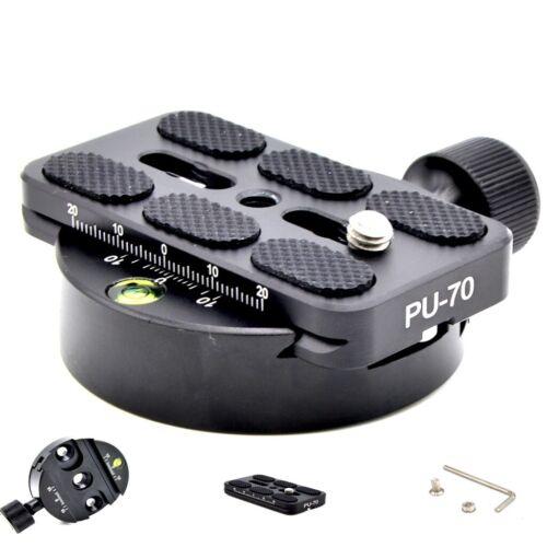 SLR DSLR Camera Lens Tripod Quick Release Clamp Plate Mount Screw Adapter