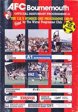 AFC Bournemouth V Huddersfield Town 90-91 de la Liga Match