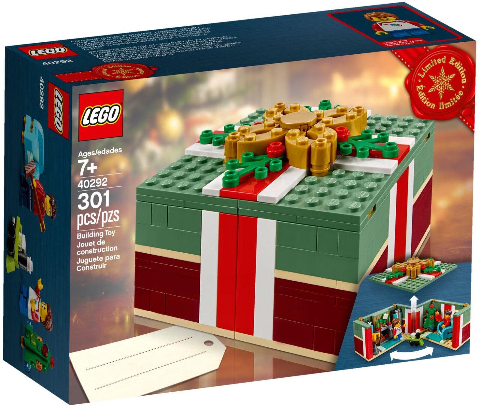 LEGO Seasonal - 40292 Christmas Gift box cadeau de noël-Neuf & neuf dans sa boîte