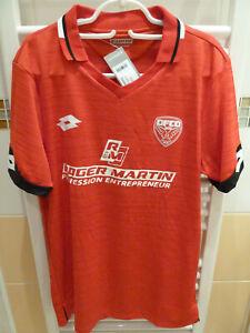 Maillot shirt foot DFCO Dijon Football Côte d'Or AJA Auxerre FC Gueugnon 19-20 !