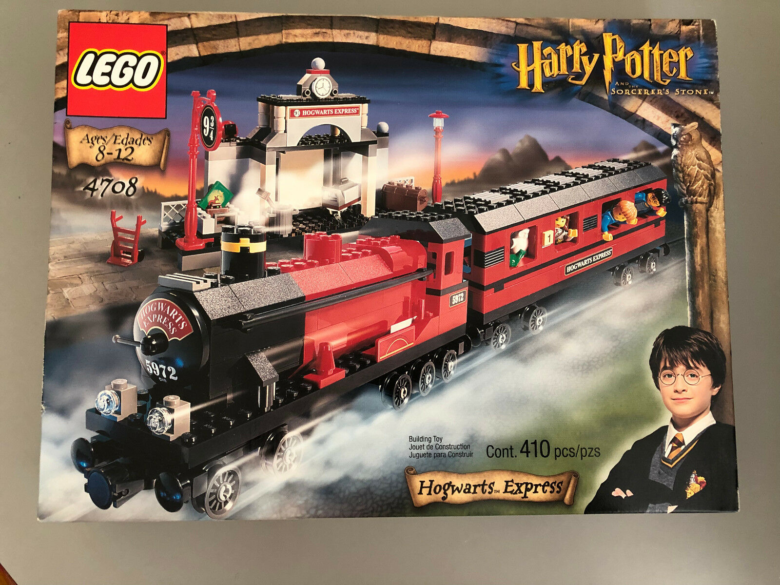 LEGO 4708 Harry  Potter  Hogwarts Express  nouveau   Factory Sealed  gros prix discount