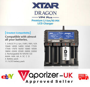 The-034-Real-034-XTAR-DRAGON-VP4-PLUS-Charger-Latest-2018-Version-Authentic-Freepost