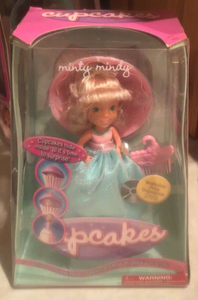 d5d399407876c Sealed RADICA Minty Mindy Cupcakes Cupcake Doll 2005 New in BOX NRFB ...