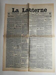 N208-La-Une-Du-Journal-la-lanterne-14-septembre-1909-eloquence-militaire