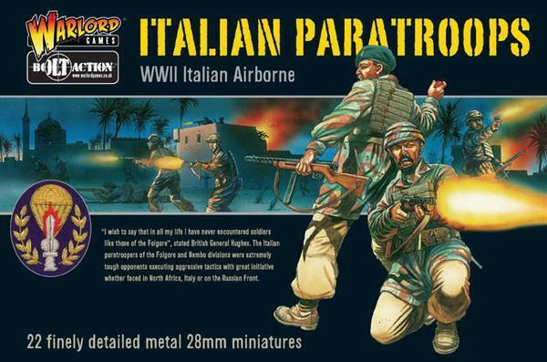 Warlord Warlord Warlord Games-Bolt Action-Ejército italiano - 28mm-Varios Disponibles 02446e