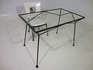 Image Is Loading Classic 50 039 S Modern Salterini Iron Table