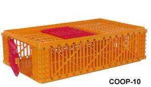 Game Bird Quail Transport Crate Plastic Gamebird Quail Crate Quail Coop Rabbit