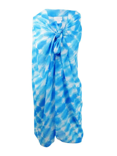 Blue, One Size Dotti Women/'s Sky Is The Limit Printed Sarong Cover-Up