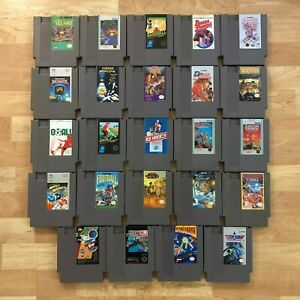 Lot-of-24-Nintendo-Entertainment-System-NES-Games-Great-Condition-Used-C13