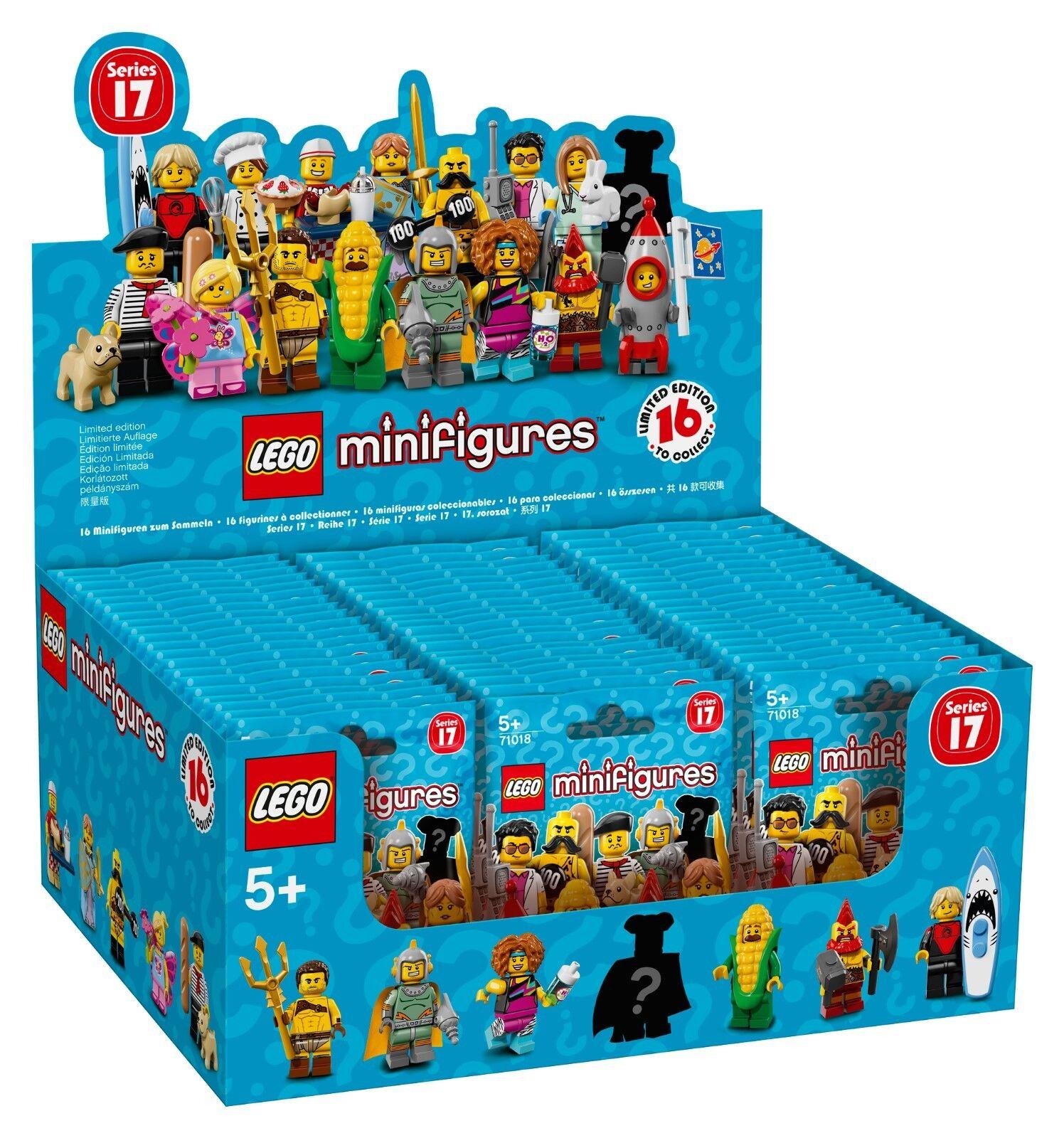 LEGO® LEGO® LEGO® Minifiguren  Serie 17 - 71018 - Thekendisplay (á 60 Tüten) 564985