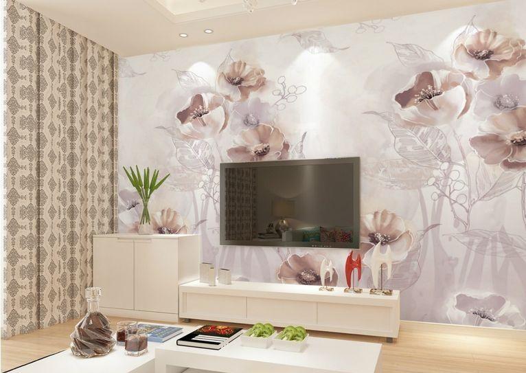 3D grau fiori 34 Parete Murale Carta da parati immagine sfondo muro stampa