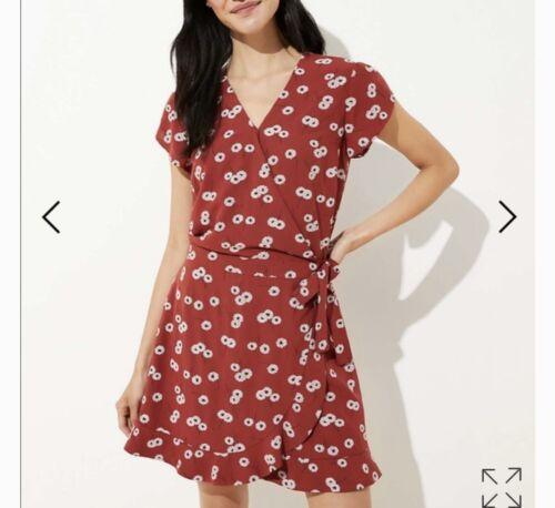 Loft Red Skort Dress 00