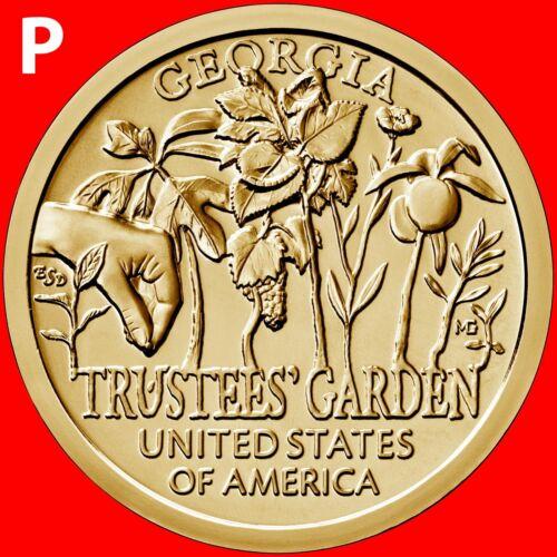 Georgia 2019-P American Innovation Dollar Uncirculated Coin