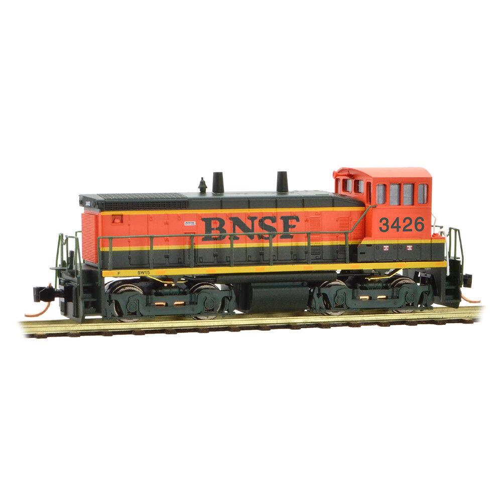 Micro Trains 9860092 Burlington Northern Santa Santa Santa FE SW1500 SWITCHER LOCOMOTIVE NEW ce4c5e