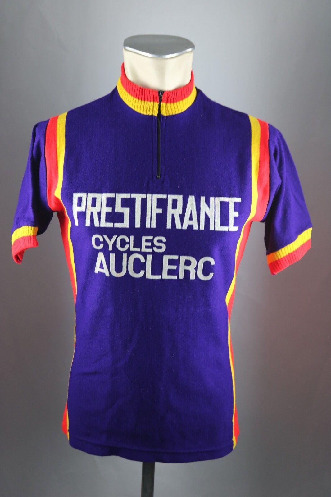 Prestifrance Cycles Radtrikot Gr. 2 S 50cm cycling jersey Acrilyque Shirt F3