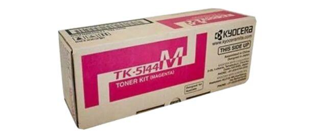 Kyocera Genuine TK-5144M Magenta Toner For P6130CDN M6030CDN - 7,000 Pages