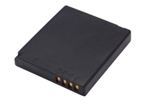 Li-ion batería para Panasonic Lumix dmc-fs10p Lumix Dmc-fs42s Lumix Dmc-fx48 Nuevo