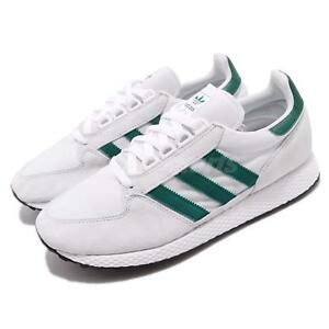 size 40 72f7c c9d68 Caricamento dell immagine in corso adidas-Originals-Forest-Grove -White-Green-Men-Running-