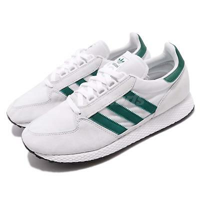 8075e2e4192 adidas Originals Forest Grove White Green Men Running Shoes Sneakers ...