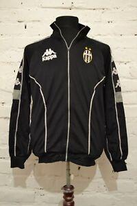 JUVENTUS-FOOTBALL-JACKET-S-MENS-KAPPA-1995-VINTAGE-RARE-TOP-SHIRT-ITALY-TRAINING