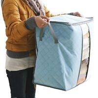 Usa Portable Storage Box Organizer Non Woven Underbed Pouch Storage Bag