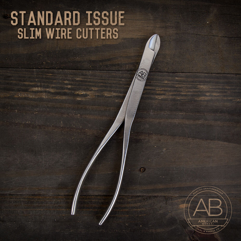 American Bonsai Stainless Steel Wire Removal Shears  Standard Issue SLIM