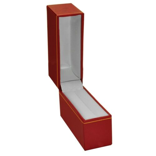 Details about  /Wholesale 12 Red Jewelry Leatherette Gift Boxes for Jewelry Bangle Boxes Box