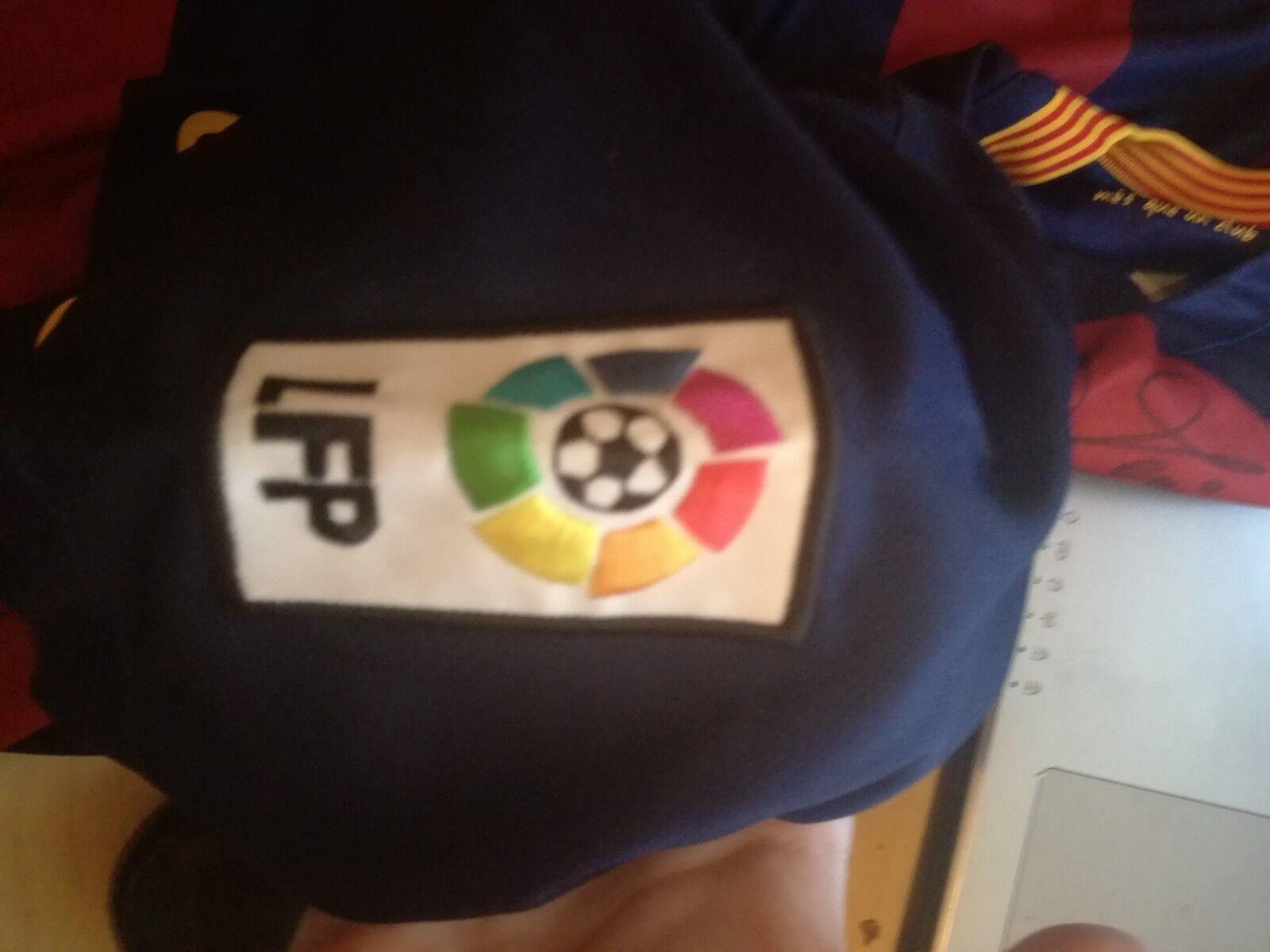 Barcelona Football Shirt Jersey Match WORN SUAREZ FIRMADA TODOS LOS JUGADORES
