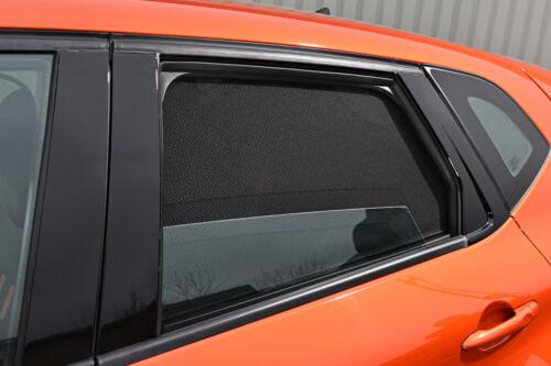 Audi A1 3 Door 2010 On UV CAR SHADES WINDOW SUN BLINDS PRIVACY GLASS TINT BLACK