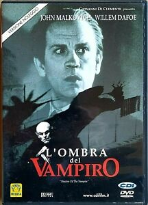 L'OMBRA DEL VAMPIRO (2000) di E. Elias Merhige - DVD EX NOLEGGIO - MEDUSA