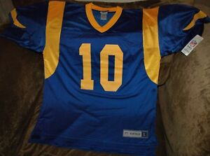 super popular 0fe7e cc531 Details about Steve Bartkowski jersey! Los Angeles Rams large NEW! NFL  vintage throwback!