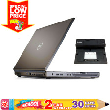 "Dell Precision WorkStation (15.6"" FHD, Intel 4thG QuadCore i7, 32GbRAM, 512GbSSD"